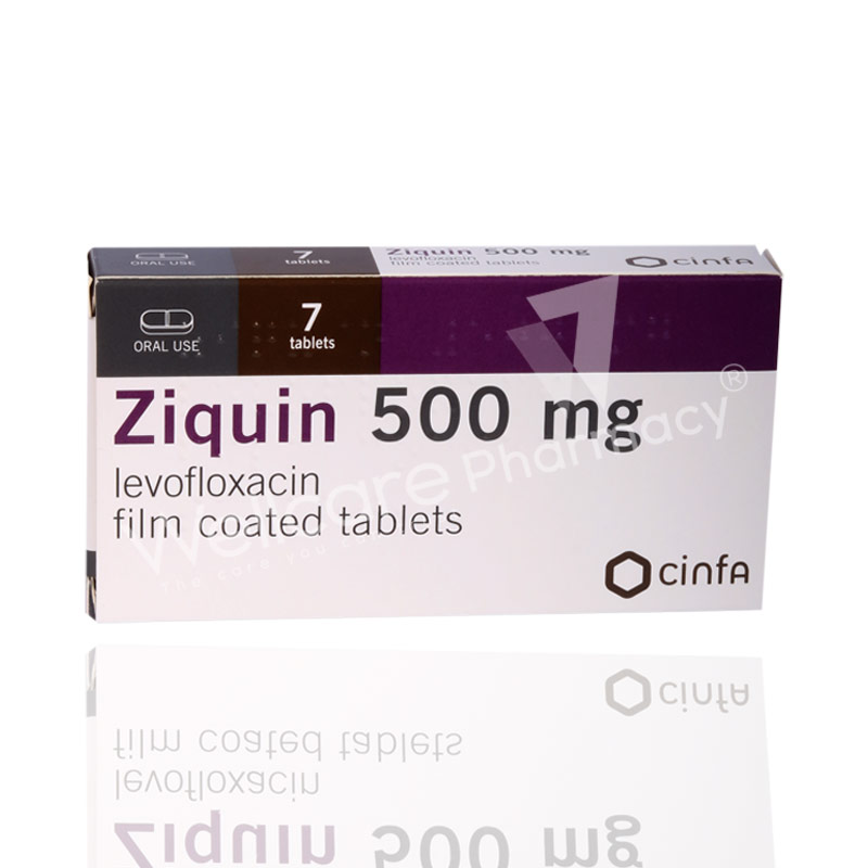 Ziquin 500mg Tablets 7 S Wellcare Online Pharmacy Qatar Buy Medicines Beauty Hair Skin Care Products And More Wellcareonline Com